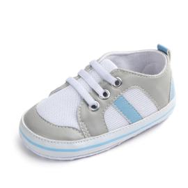 Wit/blauwe sneakers