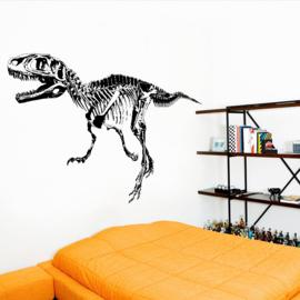 Muursticker T-Rex Skelet 68 x 104cm