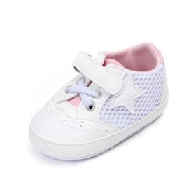 Witte sneakers met ster