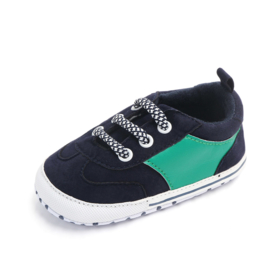 Zwart groene schoenen