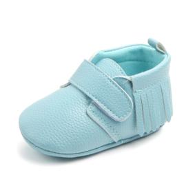 Blauwe pu leren schoenen