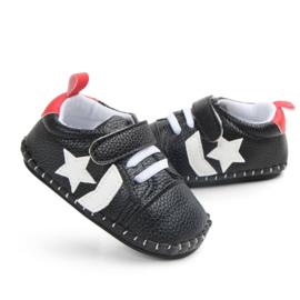 Zwarte Sneakers met witte ster