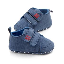 Blauwe schoenen