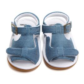 Jeans look sandalen