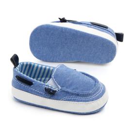 Blauwe bootschoentjes