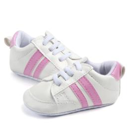 Wit/roze gympen