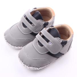 Grijze stoere schoenen
