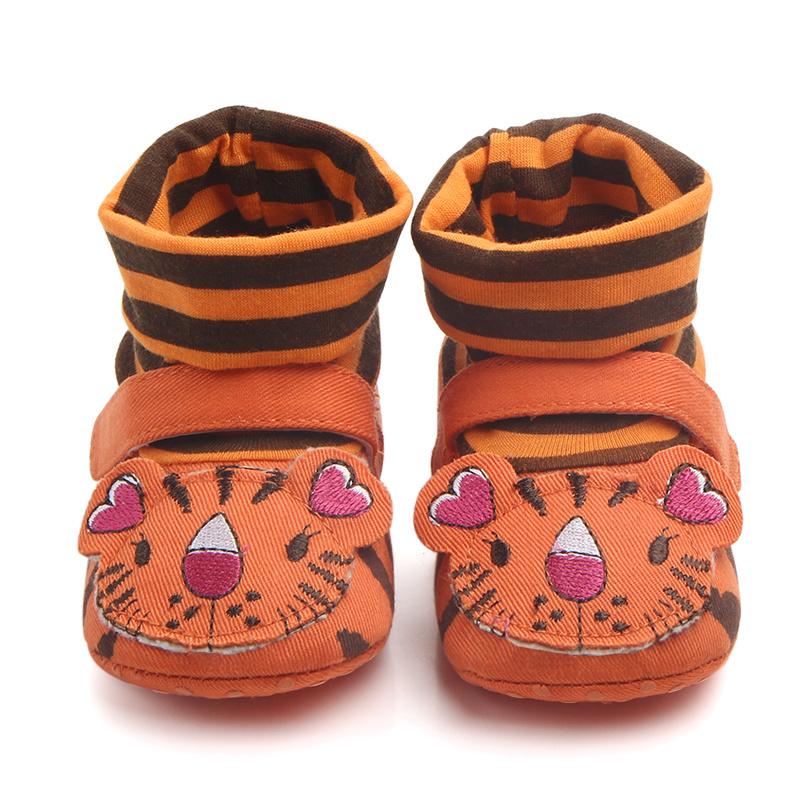 Oranje tijger sloffen