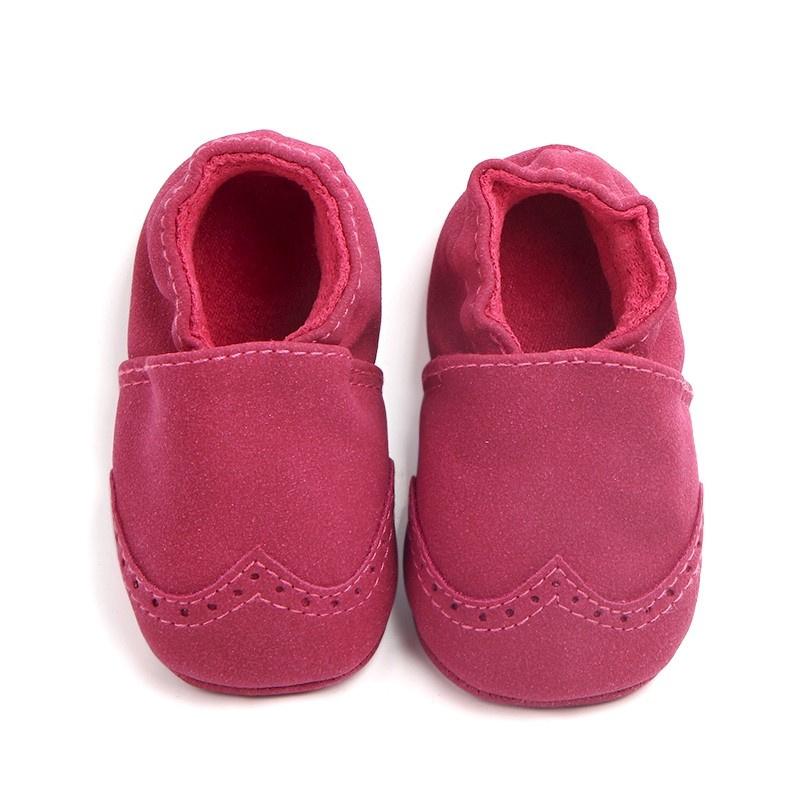 Roze Babyschoen Moccasin