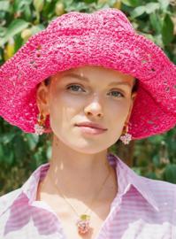 Annele oorbellen Baby raspberry