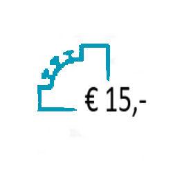 Aanvullen Saldo op uw Prepaid Account - € 15,-