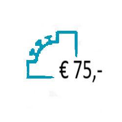 Aanvullen Saldo op uw Prepaid Account - € 75,-