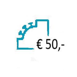 Aanvullen Saldo op uw Prepaid Account - € 50,-