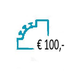 Aanvullen Saldo op uw Prepaid Account - € 100,-