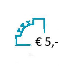 Aanvullen Saldo op uw Prepaid Account - € 5,-