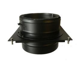 DW200/250mm Stoelconstructie element set Zwart