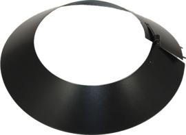 IsotubePlus Ø150/200 stormkraag - zwart