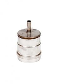 EW080 pellektkachel losse deksel met kondensafvoer