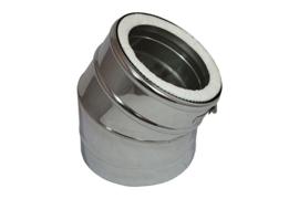 IsotubePlus Ø150/200mm bocht 30 º graden
