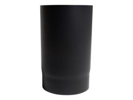EW120 2 MM pijp 25 cm Zwart