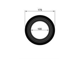 Pellet rozet  Ø 100 mm/179 mm