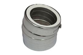 IsotubePlus Ø150/200mm bocht 15 º graden