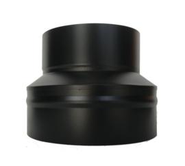 IsotubePlus Ø200/250mm contra-aansluitstuk Zwart