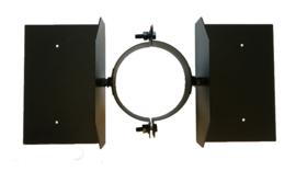 IsotubePlus Ø250 dakbevestigingsbeugel  Zwart