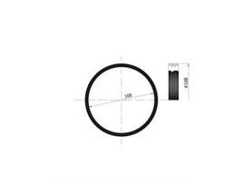 EW 100 siliconen ring