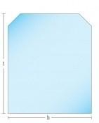 Kachelvloerplaat zeskant 800 x 800 x 6   (ZK10-701)