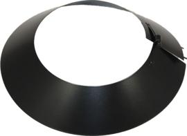 ISOTUBE Plus DW0100/150mm stormkraag Zwart