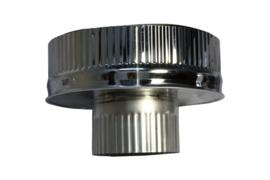 IsotubePlus Ø150/200mm onderaansluitstuk naar 100 mm