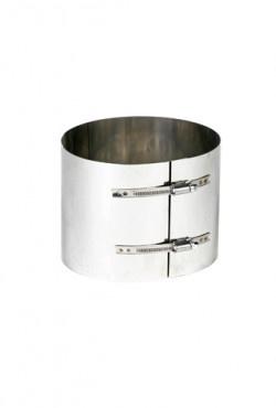 Klemband Flex Ø 100 rvs