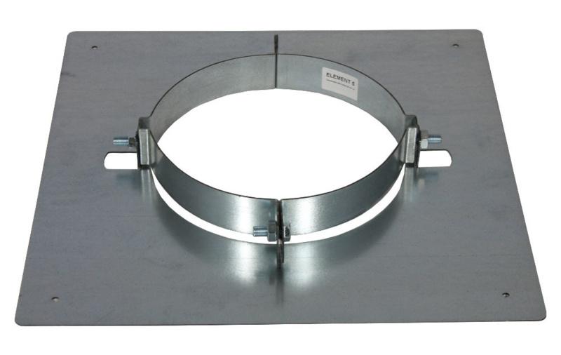 IsotubePlus Ø250 verdiepingsondersteuning gegalvaniseerd