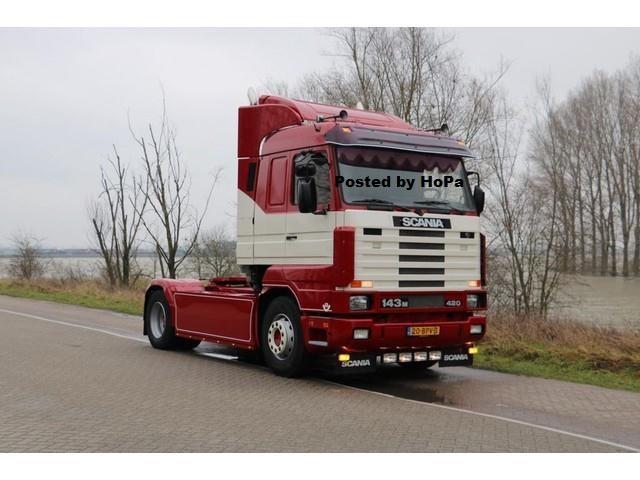 Scania R143 420 V8 , Año 1991, 1.367.611 km