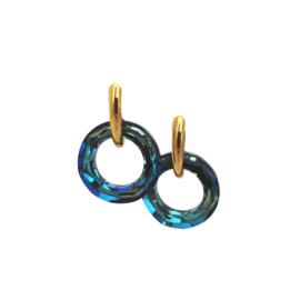 Helios Cosmic Ring Bermuda Blue