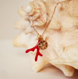 """ketting """"red coral"""""""