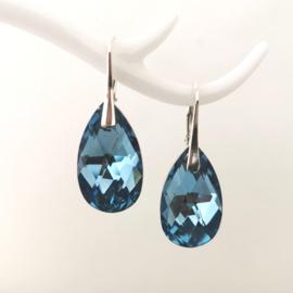 Pear Light Sapphire