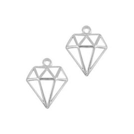 Oorbedels diamant