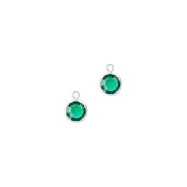 Oorbedels kristalglas