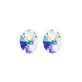 Oorbedels Swarovski Xilion Aurora Borealis