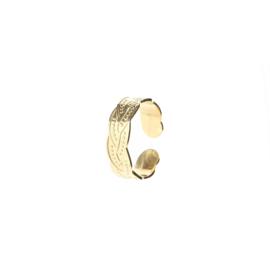 """Ring """"braid"""""""