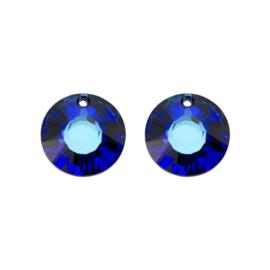 Oorbedels Swarovski Bermuda Blue