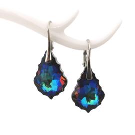 Baroque Crystal Meridian Blue