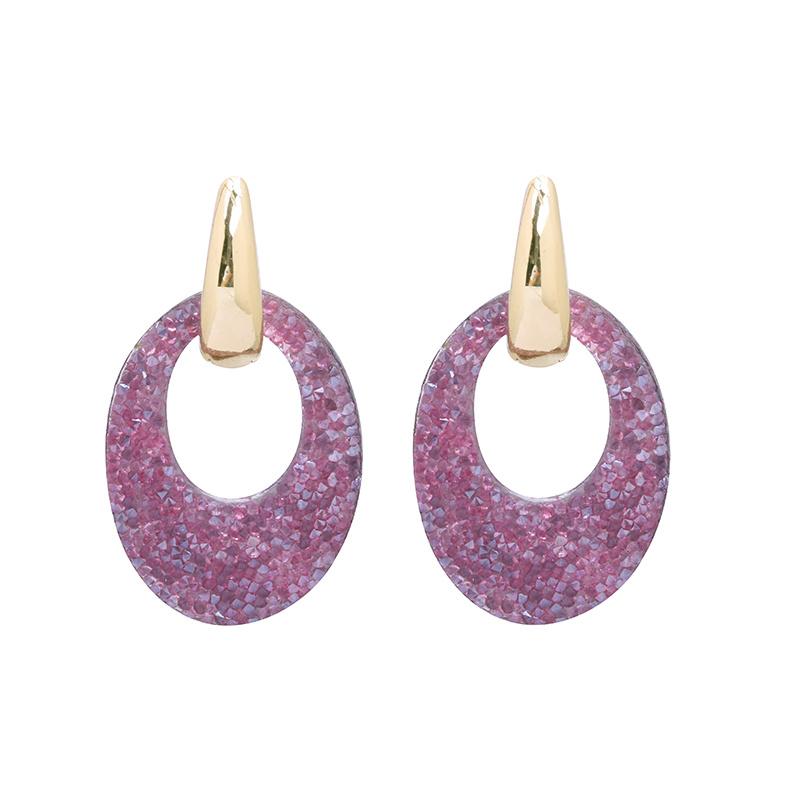 "oorbellen ""Little purple sparkles"""