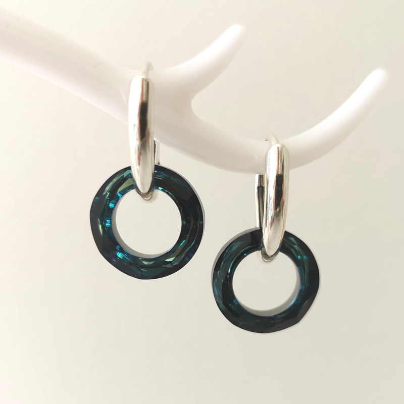 Cosmic Ring Bermuda Blue Small