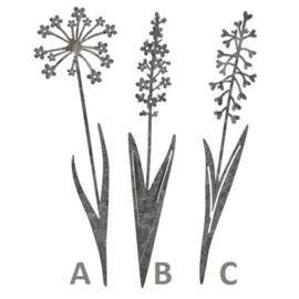 Tuinprikker Bloem 30cm