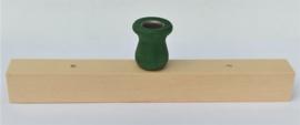 Kaarsenlijst klein groen