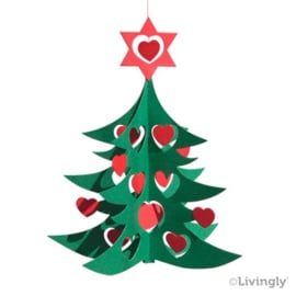 Kerstboom groen