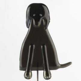 Glaskunst Hond zwart